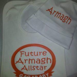 GagaBaby Armagh GAA Hat & Bib Set