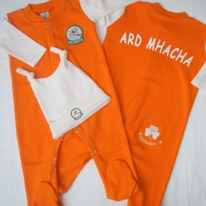 GagaBaby Armagh GAA Babygro and Hat Set