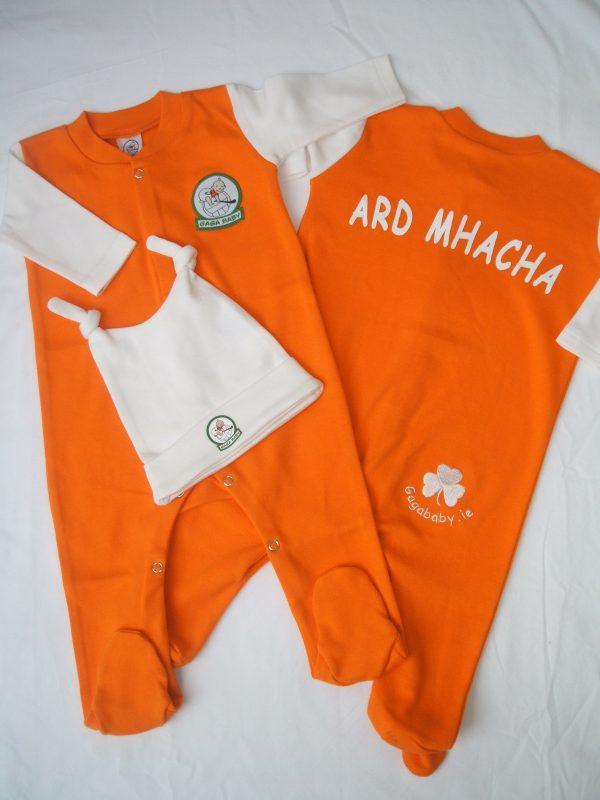 GagaBaby Armagh GAA Babygro and Hat Set