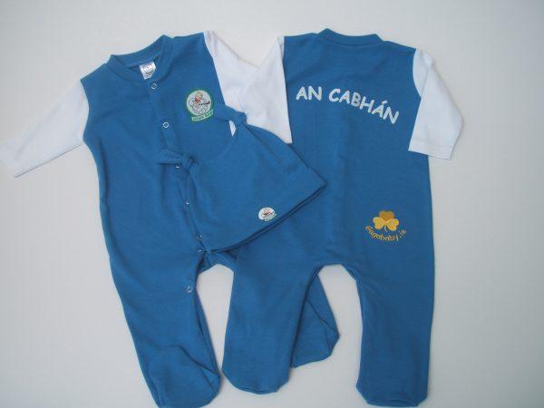 GagaBaby Cavan GAA Babygro and Hat Set