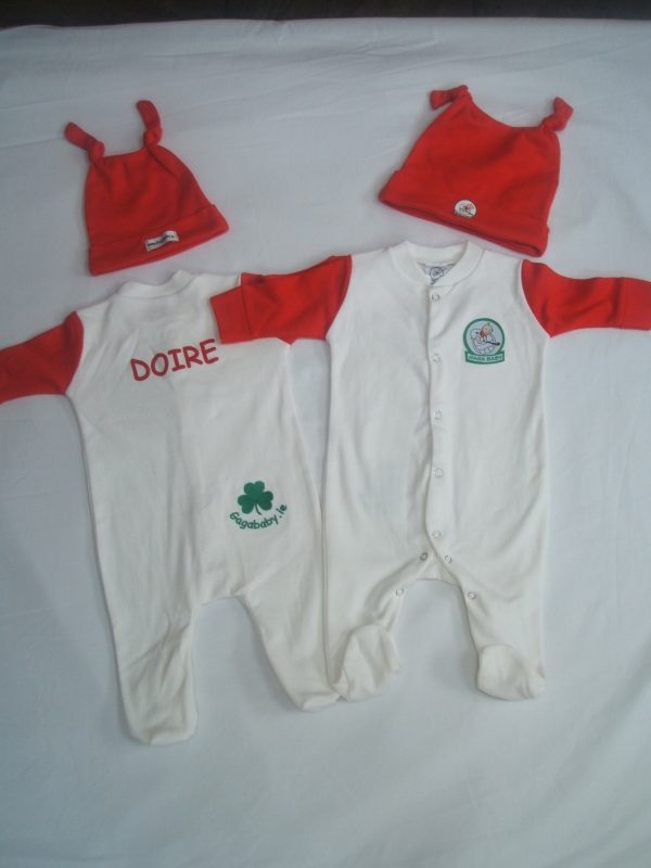 GagaBaby Derry GAA Babygro and Hat Set