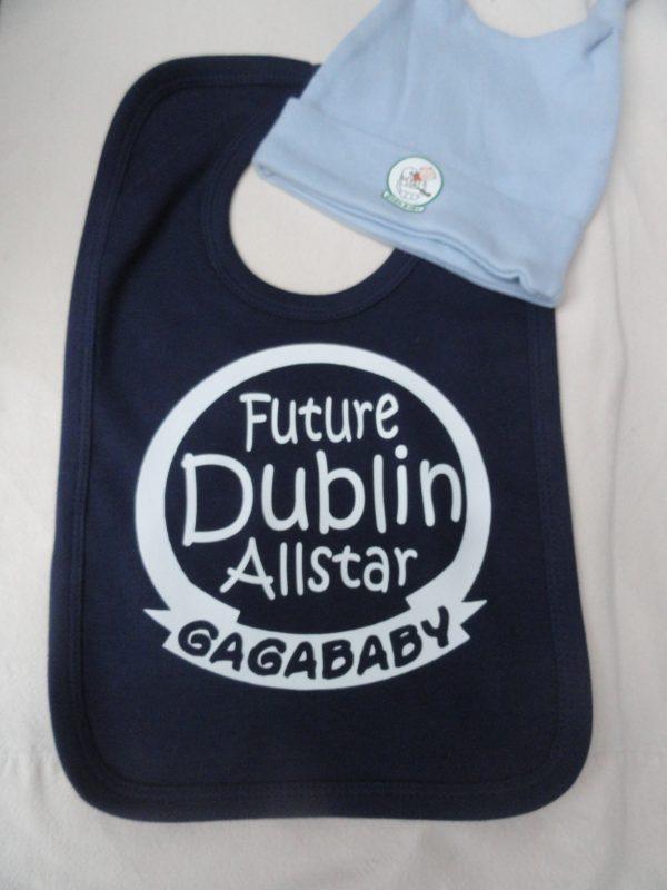 GagaBaby Dublin GAA Hat & Bib Set