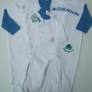 GagaBaby Monaghan GAA Babygro and Hat Set
