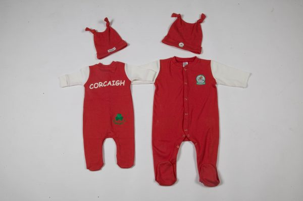 GagaBaby Cork GAA Babygro and Hat Set