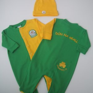 GagaBaby Donegal GAA Babygro and Hat Set