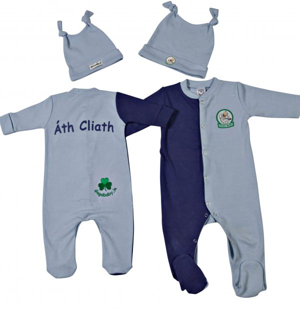 GagaBaby Dublin GAA Babygro and Hat Set