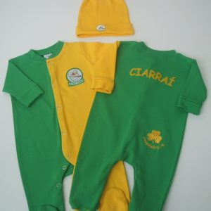 GagaBaby Kerry GAA Babygro and Hat Set