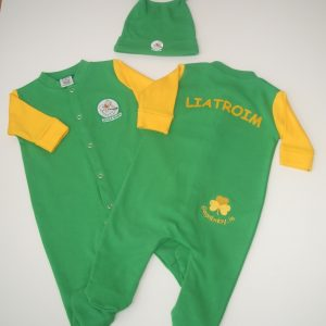 GagaBaby Leitrim GAA Babygro and Hat Set