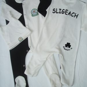 GagaBaby Sligo GAA Babygro and Hat Set