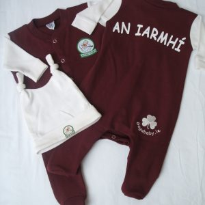 GagaBaby Westmeath GAA Babygro and Hat Set