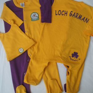 GagaBaby Wexford GAA Babygro and Hat Set