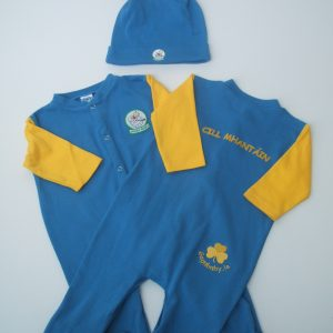 GagaBaby Wicklow GAA Babygro and Hat Set
