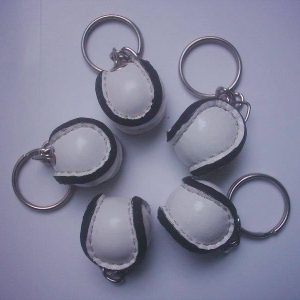 GagaBaby Customised Miniature Sliothar Keyrings